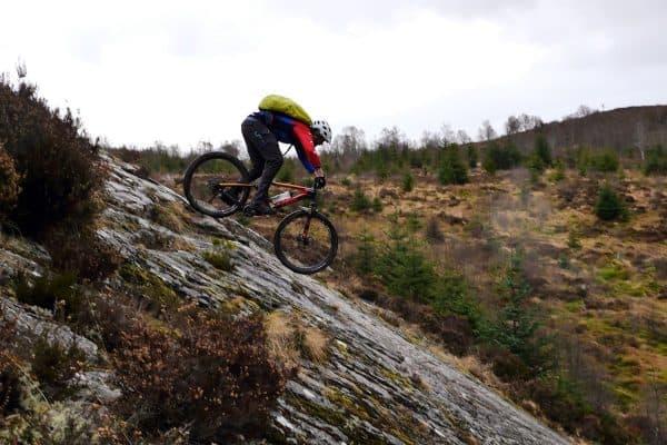 MTB Reise Schottland Route