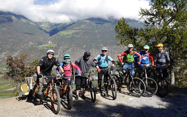 Vinschgau Trails in einem Camp