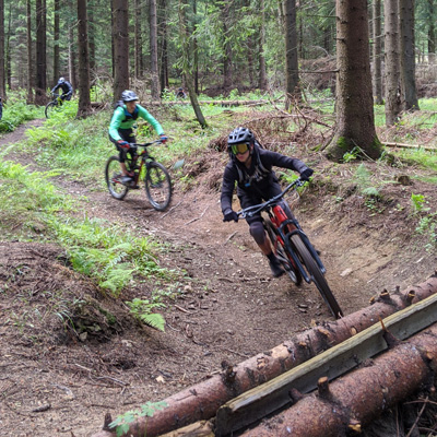 Bikepark Fahrtechnik Kurs Training Winterberg